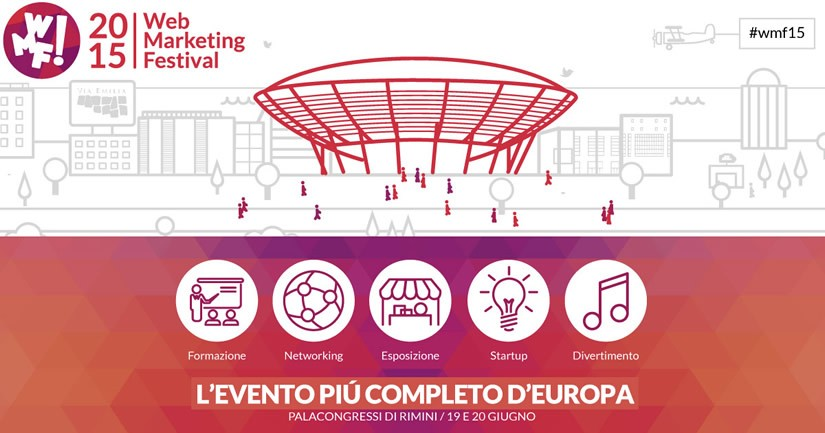 SamueleNet sponsor del Web Marketing Festival 2015 di Rimini