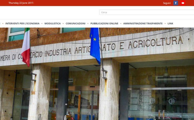 PA online: La Camera di commercio di Siena