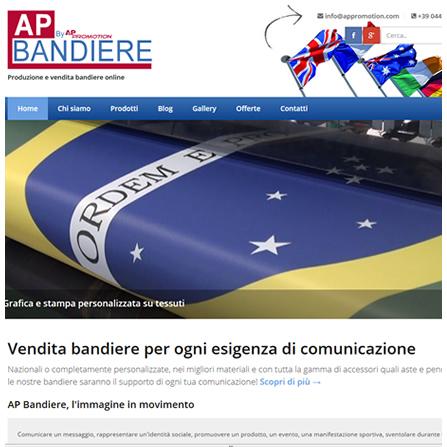 ApBandiere.com - Produzione e vendita bandiere personalizzate