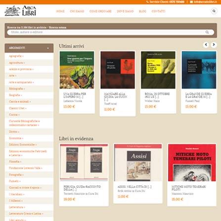 Realizzazione e commerce per la vendita di prodotti e for Libri acquisto online sconti