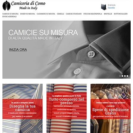 Camiceriadicomo.com - E-commerce camicie su misura