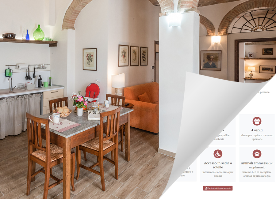 Sito web Casa Vacanze Villa Maria