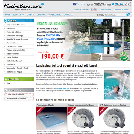Piscinabenessere.it - E-commerce piscine ed accessori