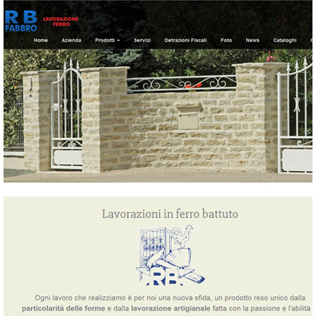 RB Fabbro - Lavorazione artigianale ferro