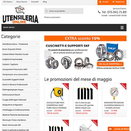 UtensileriaOnline.it - E-commerce Ferramenta Professionale